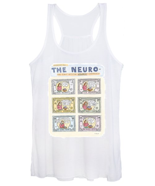 The Neuro  -   The First Official Worldwide Women's Tank Top
