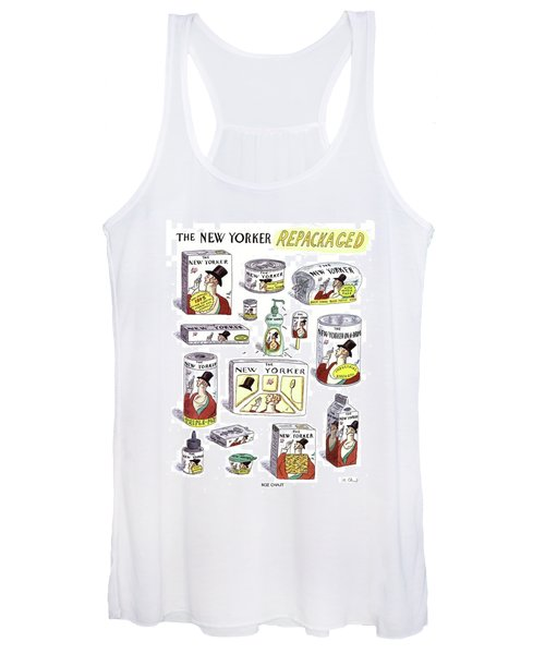 The New Yorker Repackaged Women's Tank Top