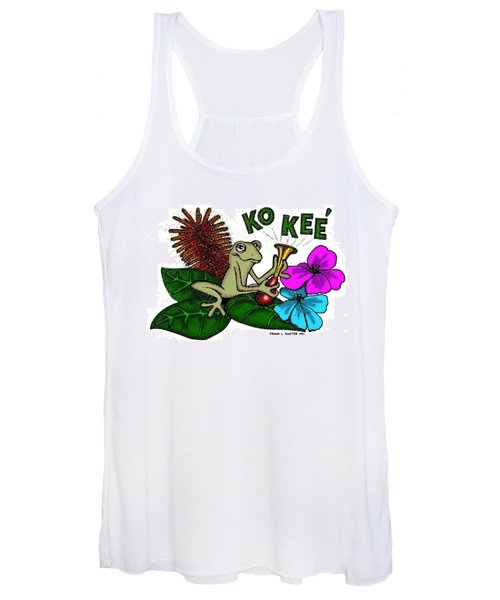 The Night Sound Of Puerto Rico Women's Tank Top