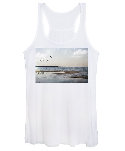 The Shallows At Whitefish Bay Women's Tank Top