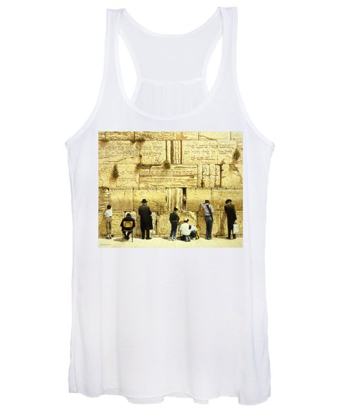 The Western Wall  Jerusalem Women's Tank Top
