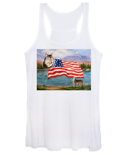 The Wildlife Freedom Collection 1 Women's Tank Top