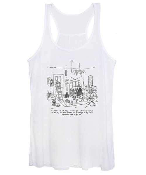 There's Lots Of Things In My Life I Absolutely Women's Tank Top