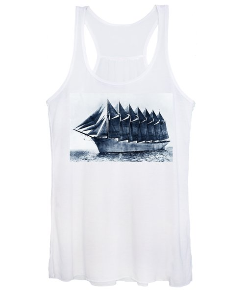 Thomas W. Lawson Seven-masted Schooner 1902 Women's Tank Top