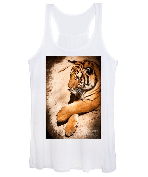 Tiger Resting Women's Tank Top