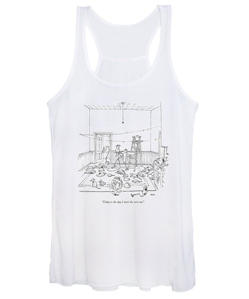 Today Is The Day I Start The New Me! Women's Tank Top