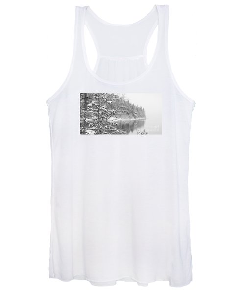 Touch Of Winter Women's Tank Top