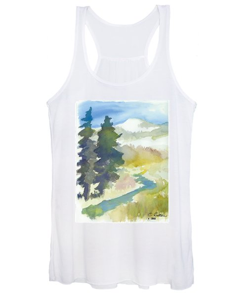 Trees Women's Tank Top
