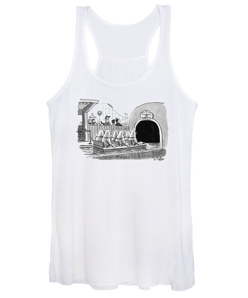 Tunnel Of Safety Women's Tank Top