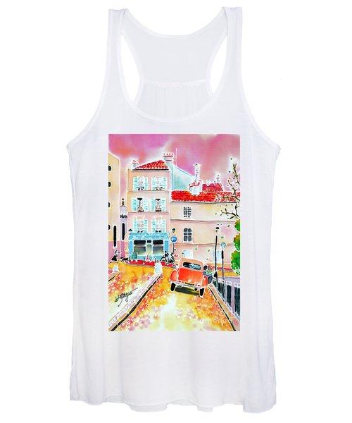 Twilight Montmartre Women's Tank Top