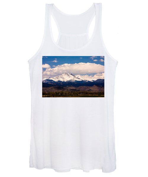 Twin Peaks Snow Covered Women's Tank Top