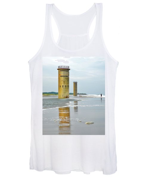 Twin Towers At Whiskey Beach Women's Tank Top