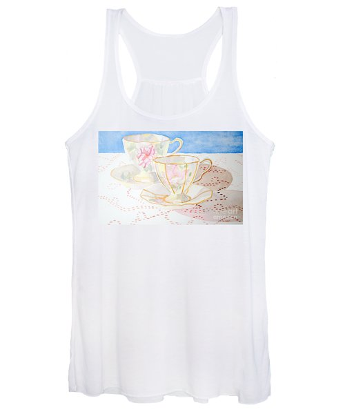 Two For Tea Women's Tank Top
