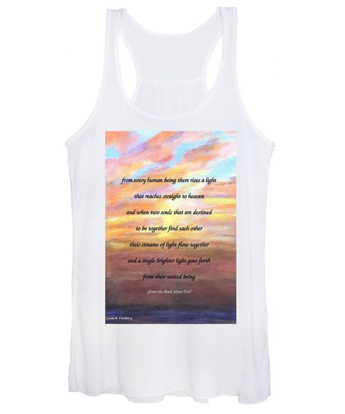 Two Souls Destined To Be Together Women's Tank Top