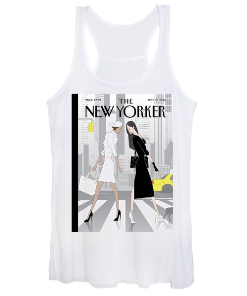 Crosswalk Women's Tank Top
