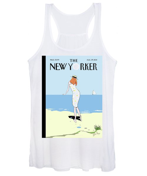 New Yorker August 29th, 2011 Women's Tank Top