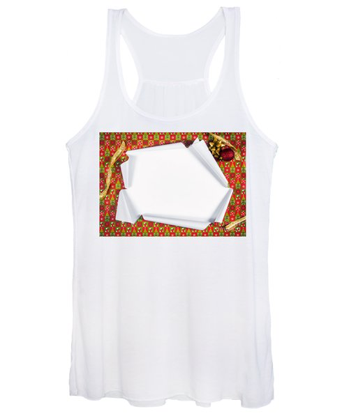 Unwrapping Gifts Women's Tank Top