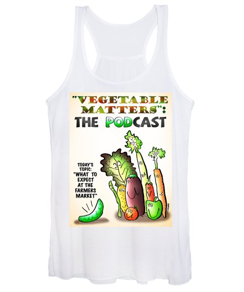 Vegetable Matters The Podcast Women's Tank Top