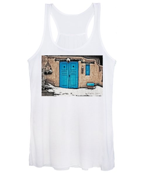 Very Blue Door Women's Tank Top