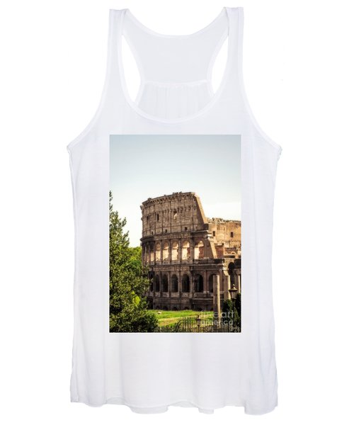 View Of Colosseum Women's Tank Top