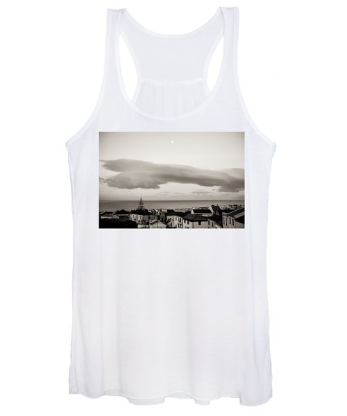 Village Rooftops At Sunrise Women's Tank Top
