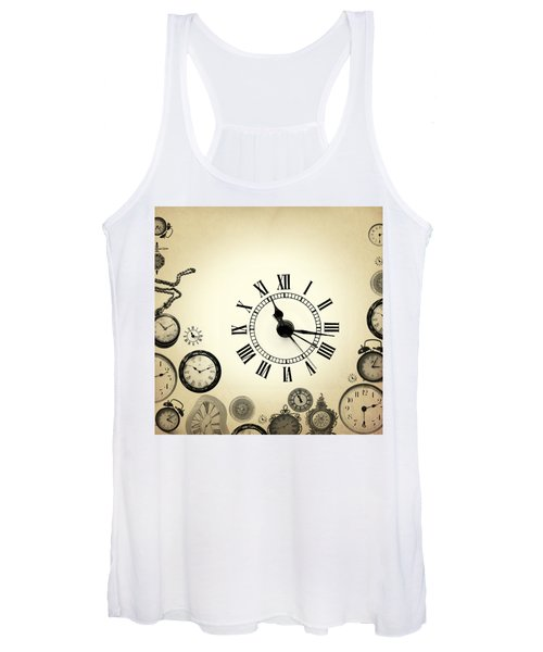 Vintage Clocks Women's Tank Top