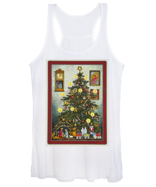 Waiting For Christmas Morning Women's Tank Top