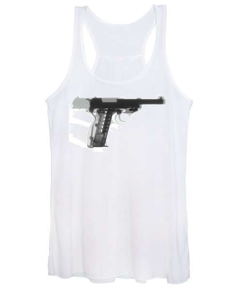 Walther P38 X-ray Photograph Women's Tank Top