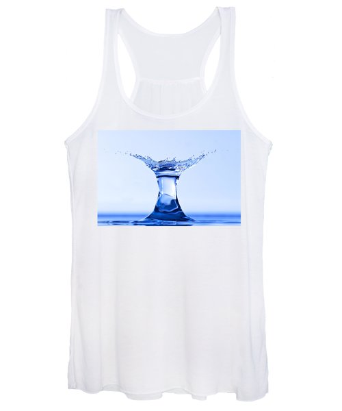 Water Splash Women's Tank Top