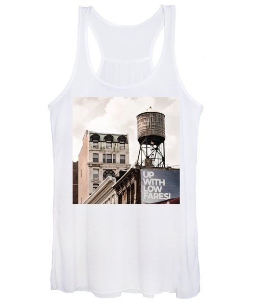 Water Towers 14 - New York City Women's Tank Top