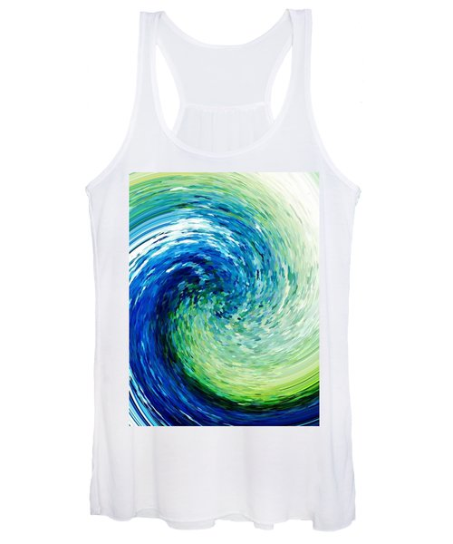 Wave To Van Gogh Women's Tank Top