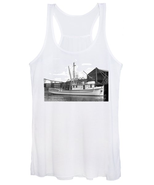 Western Flyer Purse Seiner Tacoma Washington State March 1937 Women's Tank Top