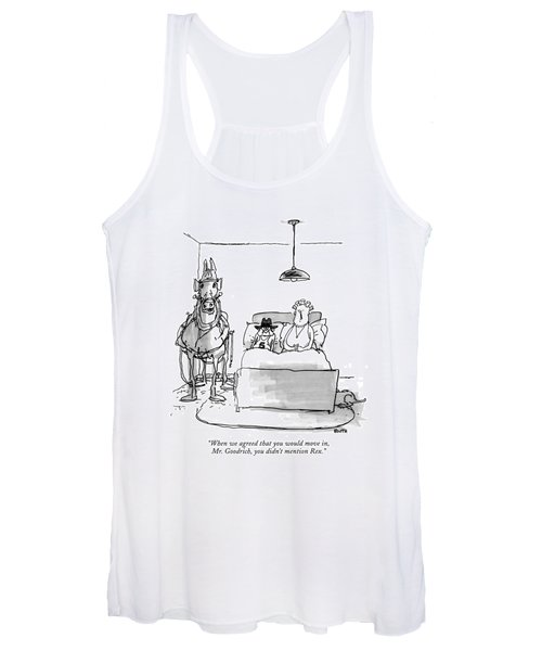 When We Agreed That You Would Move Women's Tank Top