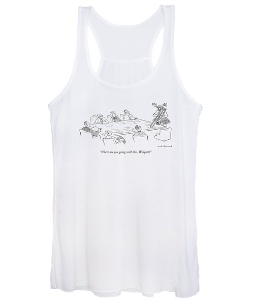 Where Are You Going With This Women's Tank Top
