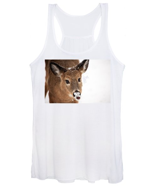 White On The Nose Women's Tank Top