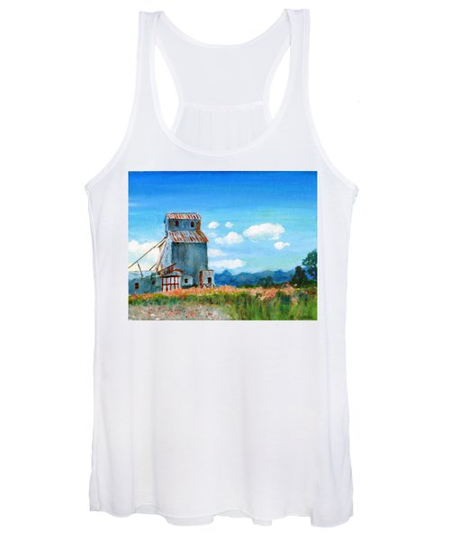 Willow Creek Grain Elevator II Women's Tank Top
