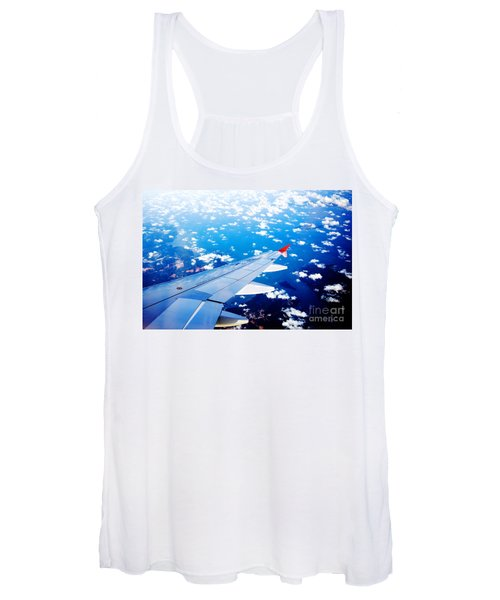 Wings And Clouds Women's Tank Top