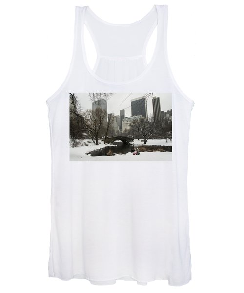Winter In Central Park Women's Tank Top