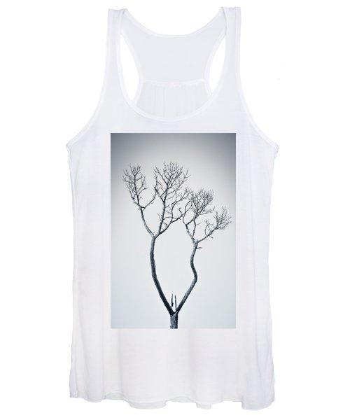 Wishbone Tree Women's Tank Top