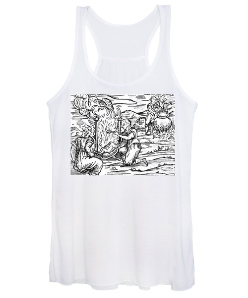 Witches Roasting And Boiling Infants Women's Tank Top