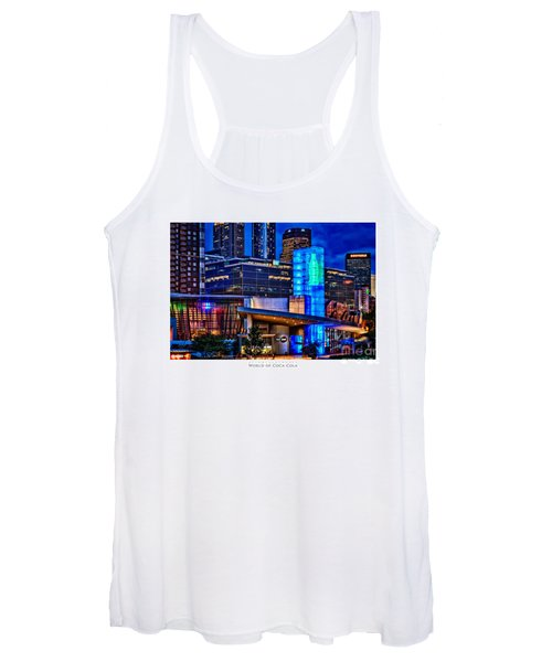 World Of Coca Cola Poster Women's Tank Top