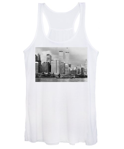 New York City - World Trade Center - Vintage Women's Tank Top