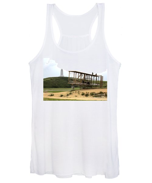 Wright Brothers Memorial At Kitty Hawk Women's Tank Top