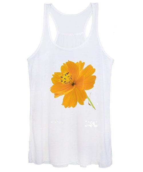 Yellow Coreopsis Women's Tank Top