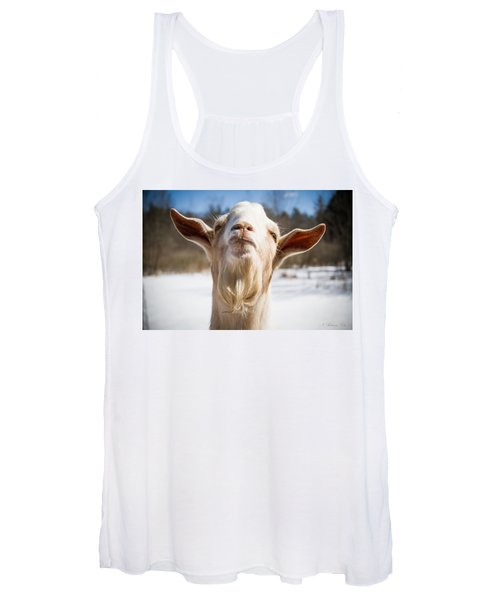 'yoda' Goat Women's Tank Top