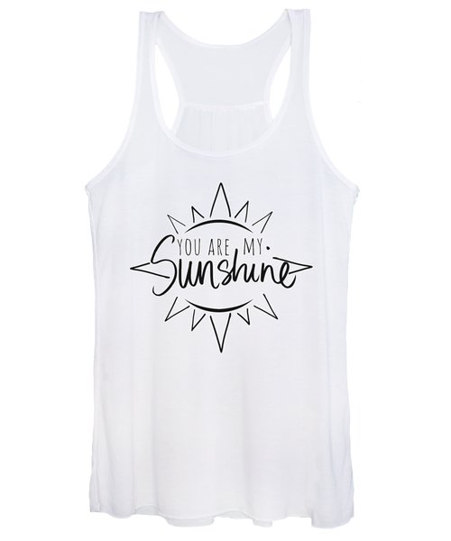 You Are My Sunshine With Sun Women's Tank Top