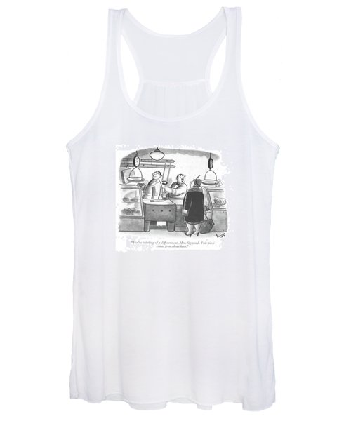 You're Thinking Of A Different Cut Women's Tank Top