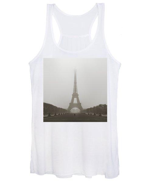 Foggy Morning In Paris Women's Tank Top