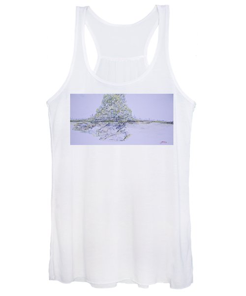 A Day In Central Park Women's Tank Top