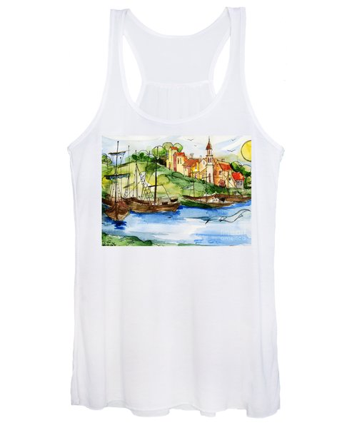 A Little Fisherman's Village Women's Tank Top